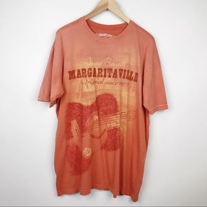 Jimmy Buffet Margaritaville Guitar Graphic T-Shirt
